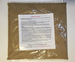 10 lb. of Organic Essiac blended herbs in TEN (10) 1 lb. sealed/labeled bags